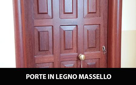 Porte In Legno Massello : Porte interne