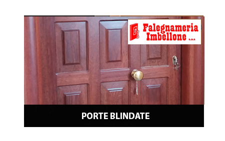 Porte blindate e interne